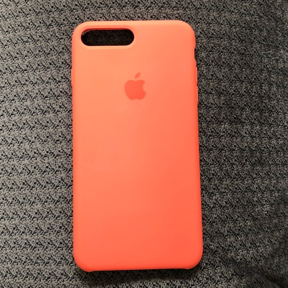 iphone 8 silicone case orange